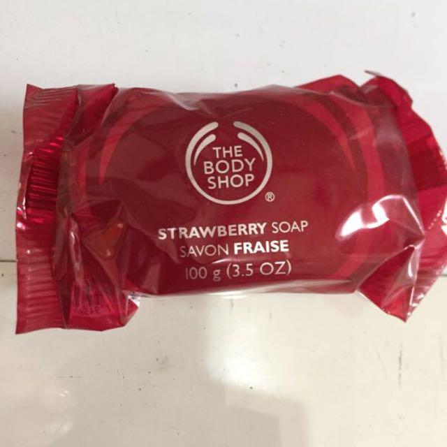 Sabun Body Shop Soap New