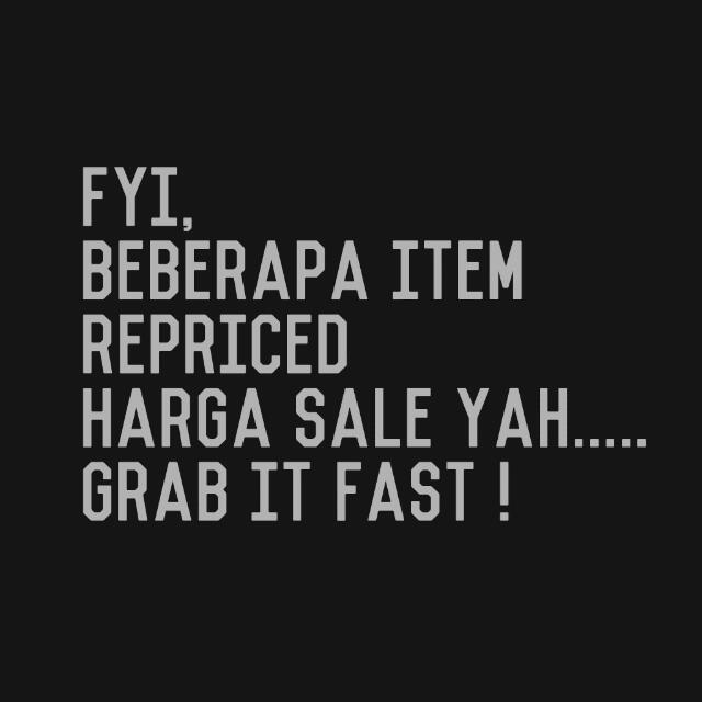 Sale PRICE !