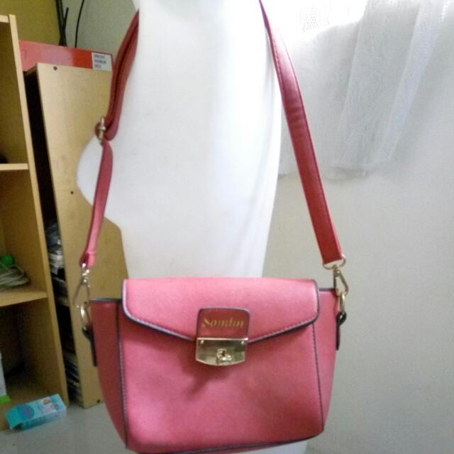 Samlin Red Sling Bag