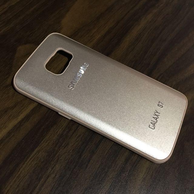 Samsung S7 Flat Gold Case
