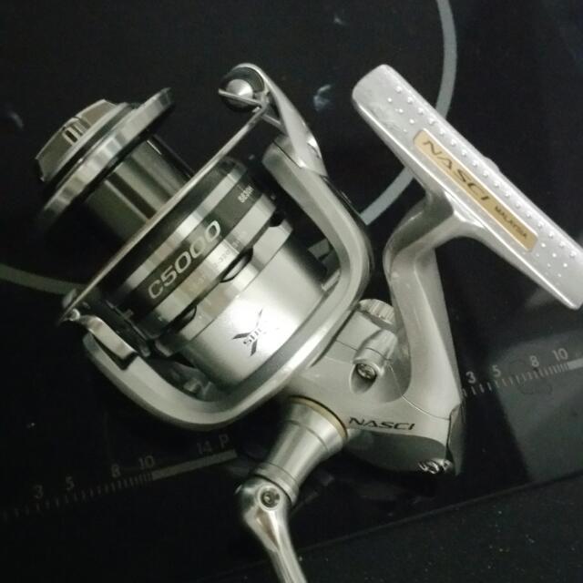 Shimano Nasci C5000 & Aceration SW4000
