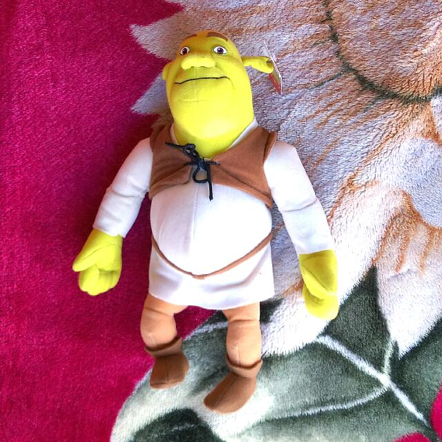 Shrek Soft Toy
