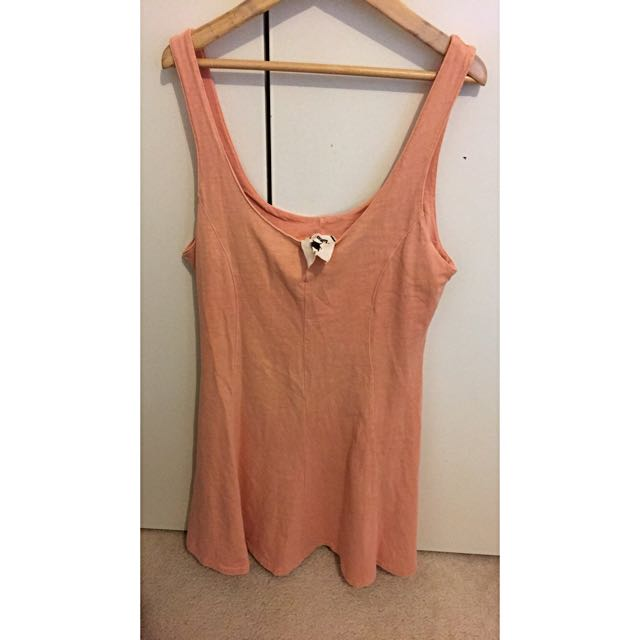 Size 12, Kroam Dress, Salmon Pink Colour