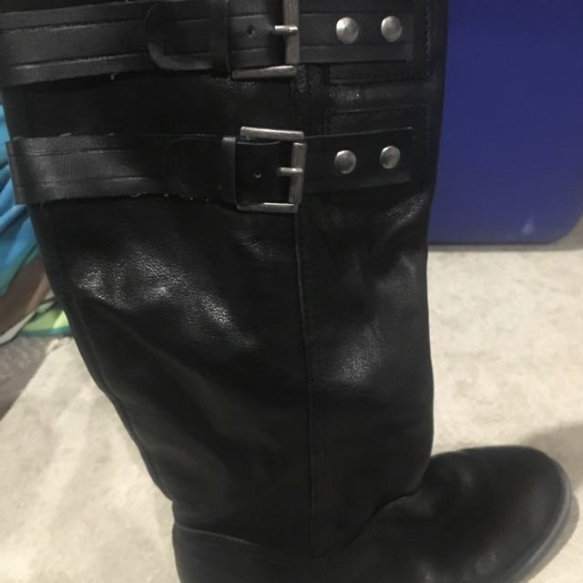Size 8 Nine West Boots All Leather