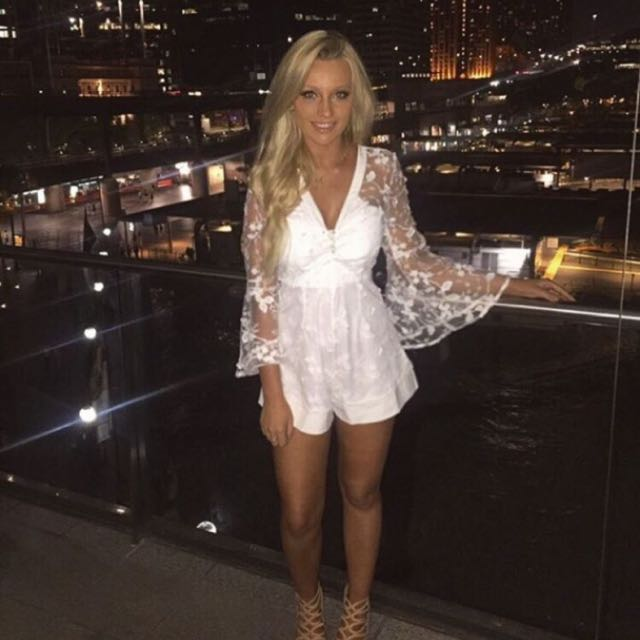 Size S Lace Playsuit