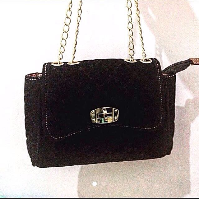 Tas Chain Bag black