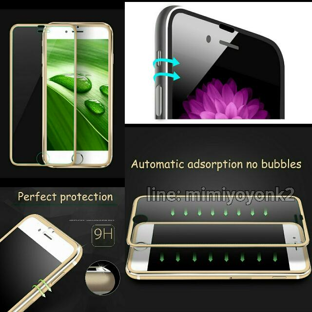 Tempered Glass Premium 3D Iphone 6/ 6s / 6+ / 6s+/ 7 / 7+