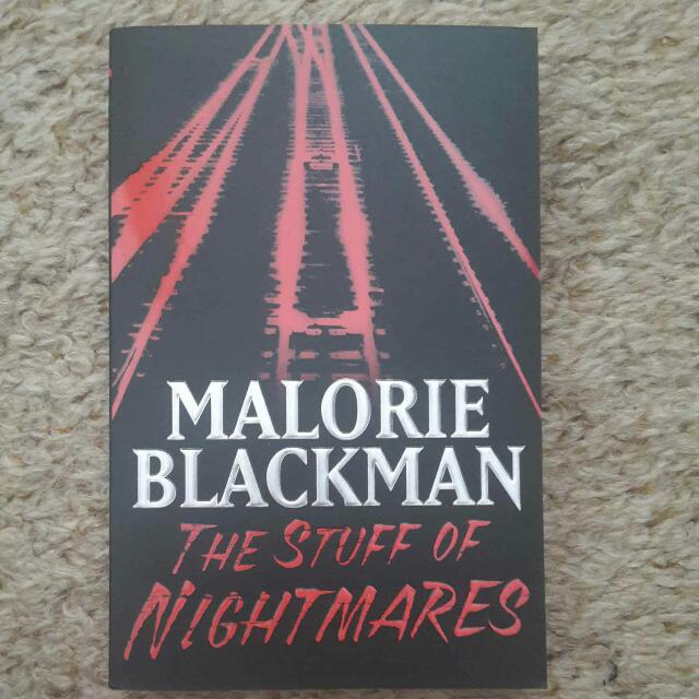 The Stuff of Nightmares teen novel by Malorie Blackman