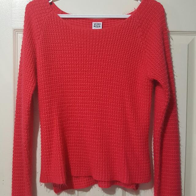 Vero Moda Pink Sweater