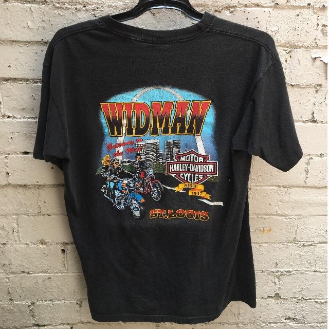 Vintage Harley Davidson 'widman' tee M