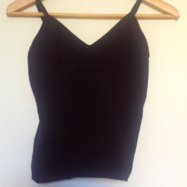 Vintage Max Mara Viscous Fitted Camisole Onesize