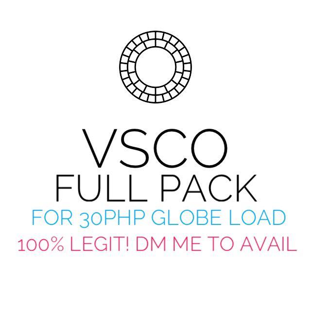 VSCO FULL PACK AND AFTERLIGHT FULL PACK