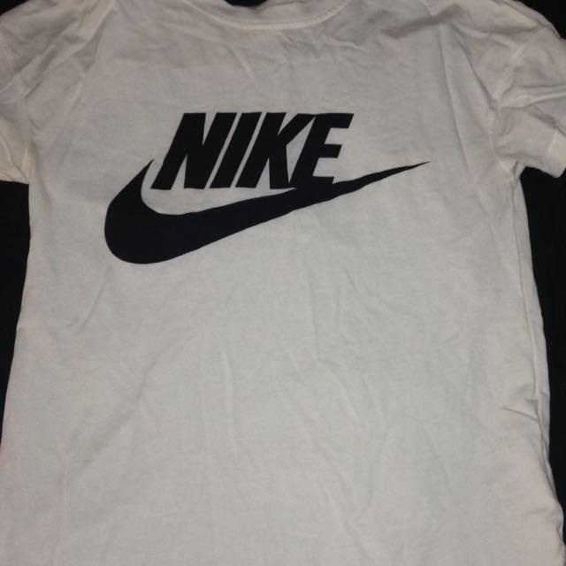 White Nike Top