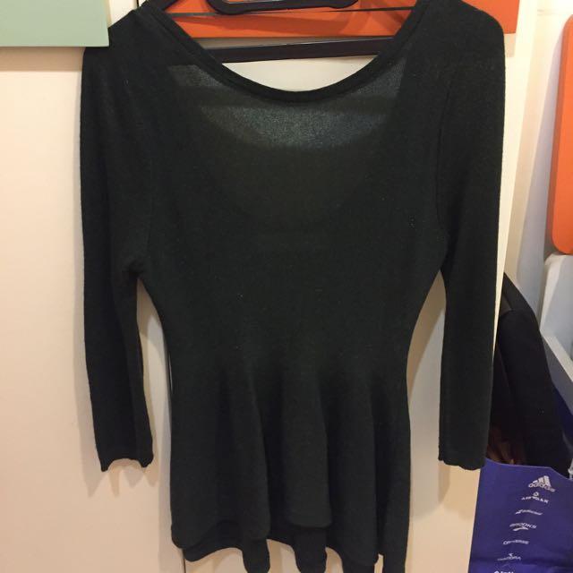 ZARA Knit - Peplum Top
