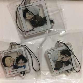 YOI Acrylic Polaroid Straps
