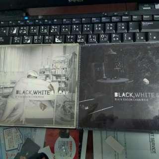 EASON CHAN 陳奕迅 黑白灰CD+VCD 罕有黑色版 白色版 BLACK WHITE GRAY