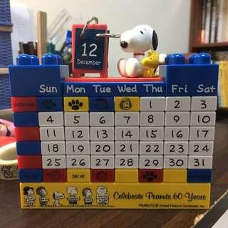 史努比萬年曆