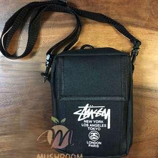 全新 日本 雜誌 Stussy Logo 隨身 側背包 休閒包 零錢包 肩背包