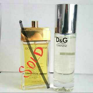 Dolce & Gabbana - D&G Feminine 100ml