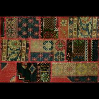 Patched Turkish Kilim Rugs