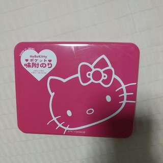 Hello Kitty Metal Case