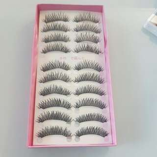 False Eyelashes (natural)