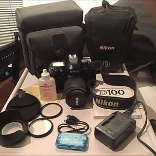 Nikon Digital SLR Camera With LOADS Of Extras