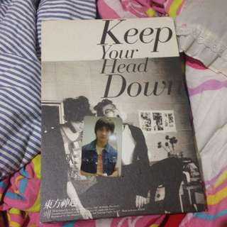 TVXQ - Keep Your Head Down (limited Edition)