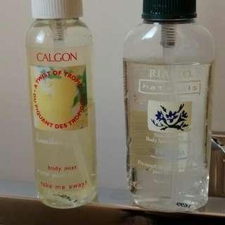 Hawaiian Ginger Body Mist & Freesia Body Splash/Cologne