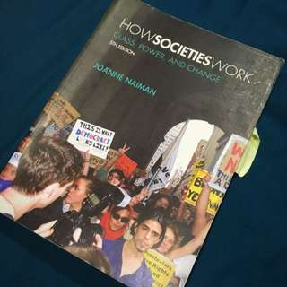 How Societies Work 5th edition Joanne Naiman