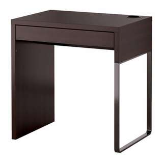 Desk, black-brown