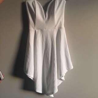 White Sweet Heart Dress