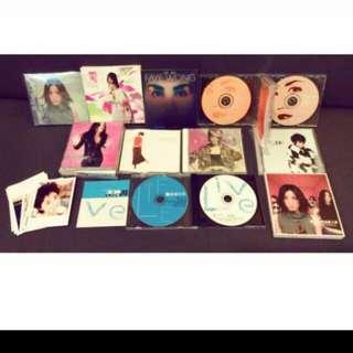10張正版CD合售 王菲經典正版CD 收藏 紀念 絕版 二手