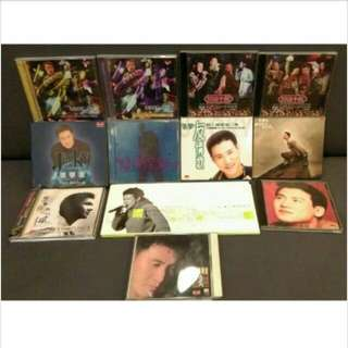 10張正版CD合售 張學友經典正版CD 收藏 紀念 絕版 二手