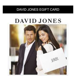 David Jones E Gift Cards 5% Off