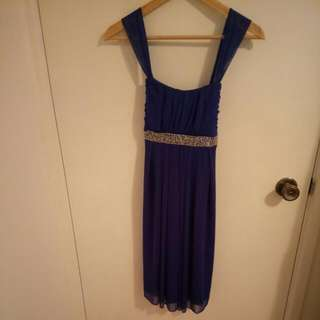 Electric Blue Formal Dress