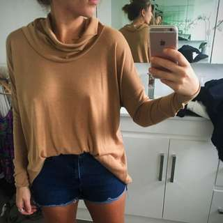 Tan Light Knit