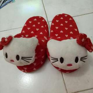 Sendal Rumah Hello Kitty