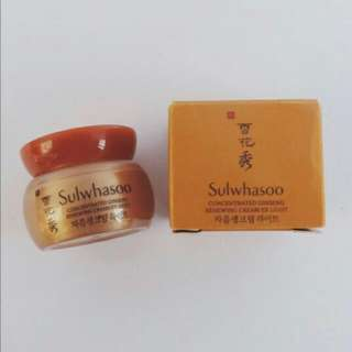 Sulwhasoo Concentrated Ginseng Renewing Cream Ex Light (Sample)