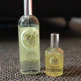 Body Shop Moringa Fragrance Set