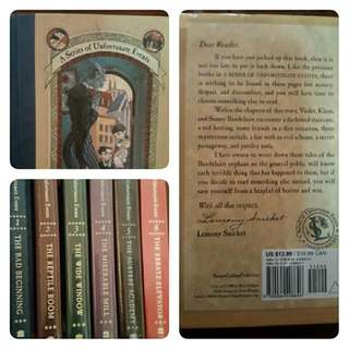 Series Of Unfortunate Events Book Series