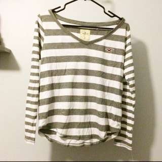 *Reduced* Hollister Striped Shirt