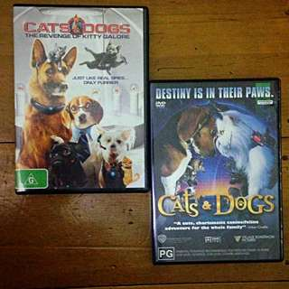 Cats And Dogs Dvds