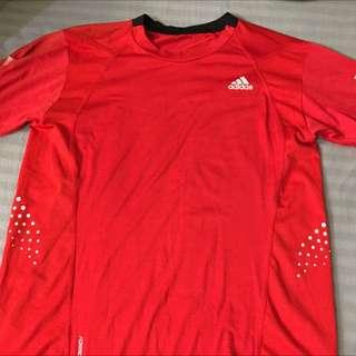 Adidas 運動 排汗 運動上衣 足球