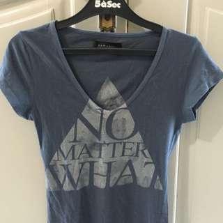 Zara Tshirt - No Matter What