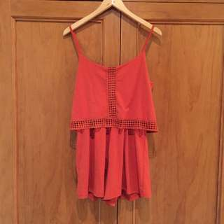 Burnt Orange Play suit