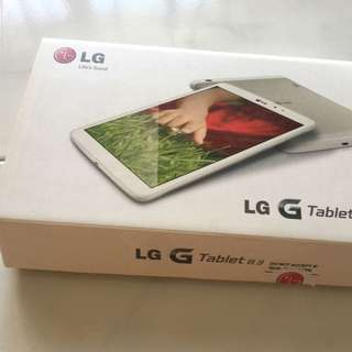 LG G Tablet 8.3 Wifi Only