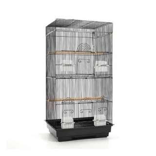 Pet Bird Cage Black Medium - 88CM