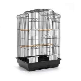 Pet Bird Cage Black Medium - 68CM