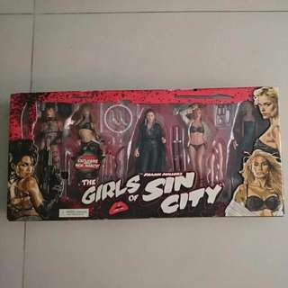 The Girls Of Sin City Figurines